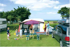 Ruda Holiday Park Parkdean Holidays Croyde Bay Devon Caravan Camping Camp Site Touring
